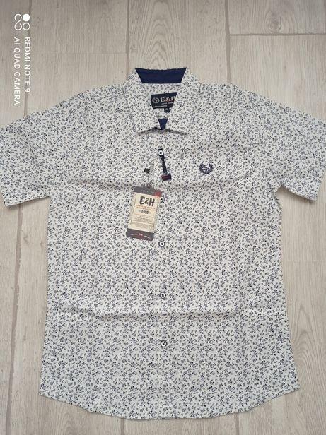 Рубашка на короткий рукав 152