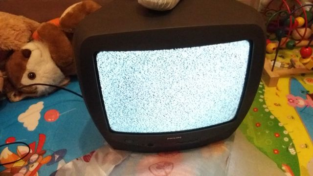 Sprawny telewizor Philips 14 cali do kuchni