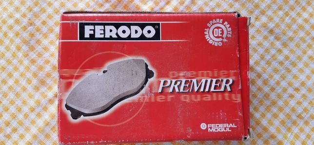 Pastilhas disco Citroen/Peugeot