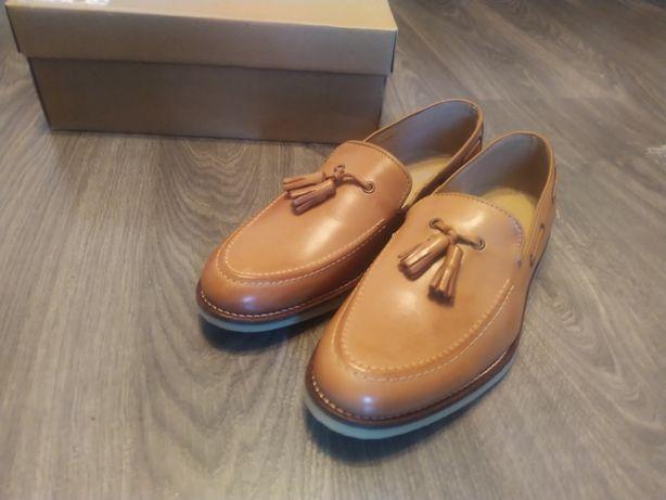 Лоферы Asos размер 42-42.5, смарт лоферы, туфли, топсайдеры