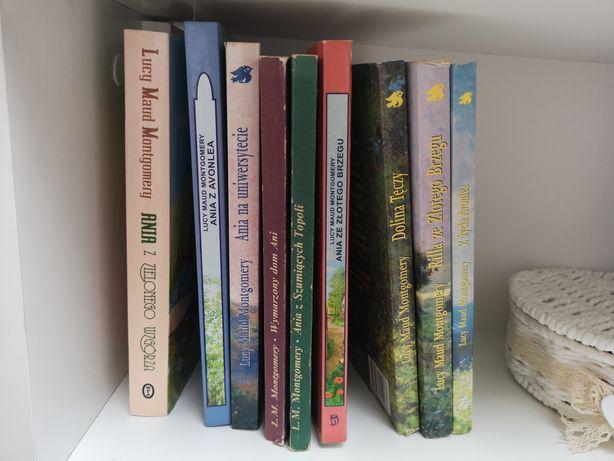 Ania z Zielonego wzgórza, cała saga, 9 tomów