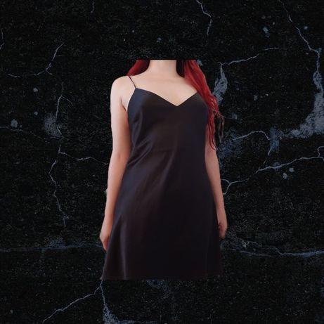Vestido acetinado - Oysho