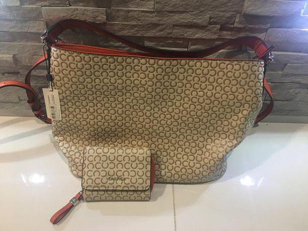 Nowa torebka z portfelem Carpisa