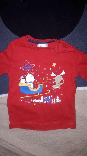 ubranka świąteczne dla niemowlaka r. 80, marynarka dla dziecka 12 mies