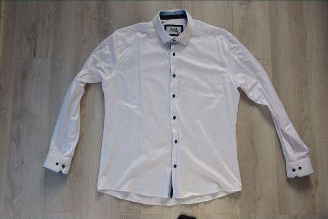 Koszula weselna bawełna rozmiar XXL Kudi