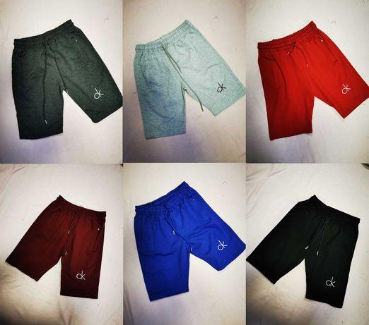 Spodenki męskie Calvin Klein Ck spodnie logowane bawełniane lato