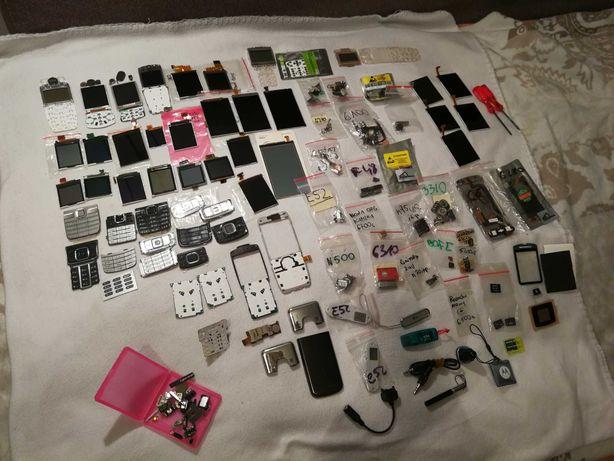 Mega duży zestaw części i akcesoria do telefonów komórkowych Nokia
