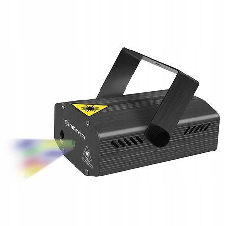 Laserowy projektor rzutnik MANTA MDL 008 Disco