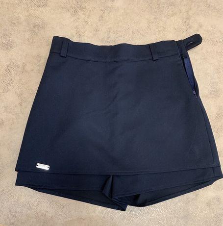 Школьная юбка-шорты 152 см