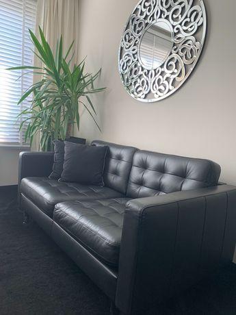 Sofa z naturalnej skóry .