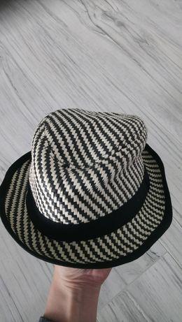Słomkowy kapelusz h&m rozm 80