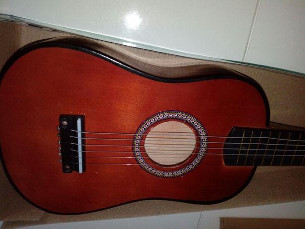 Gitara klasyczna akustyczna dla dzieci drewno 6 strun nowa klasyk