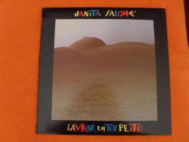 Janita Salomé - Lavrar em teu peito - LP vinil