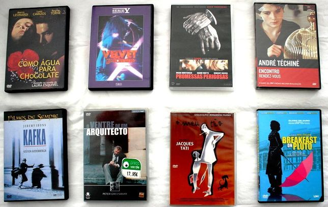 7 Filmes DVDs Fantásticos