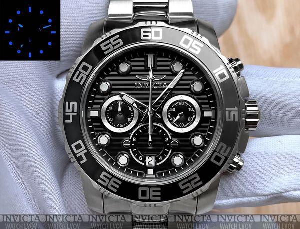 Мужские часы Invicta 22226 Pro Diver SCUBA Chronograph 50 mm. 100 mt.