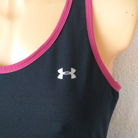Ua bluzka koszulka under armour bokserka damska xl siłka zumba sport