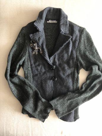 Продам итальянский трикотажный пиджак