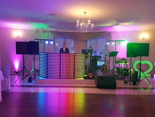 DJ , Nagłośnienie Oświetlenie Dekoracje LED, FOTOLUSTRO