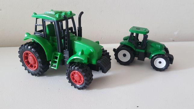 2 Traktorki autka traktor ciągnik