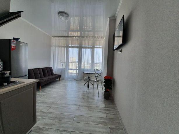 S Квартира с террасой и ремонтом в 42 Жемчужине ул.Генуэзская Аркадия