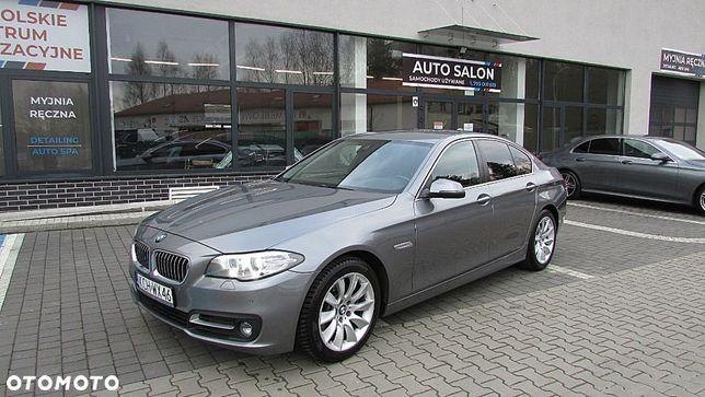 BMW Seria 5 520d Lift Sport fotele navi Ledy Bezwypadkowy Stan idealny Zamiana