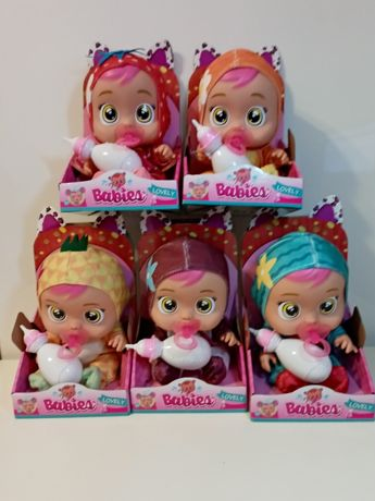 Lovely babies, cry babies lalka z dźwiękiem-owoce Nowa .