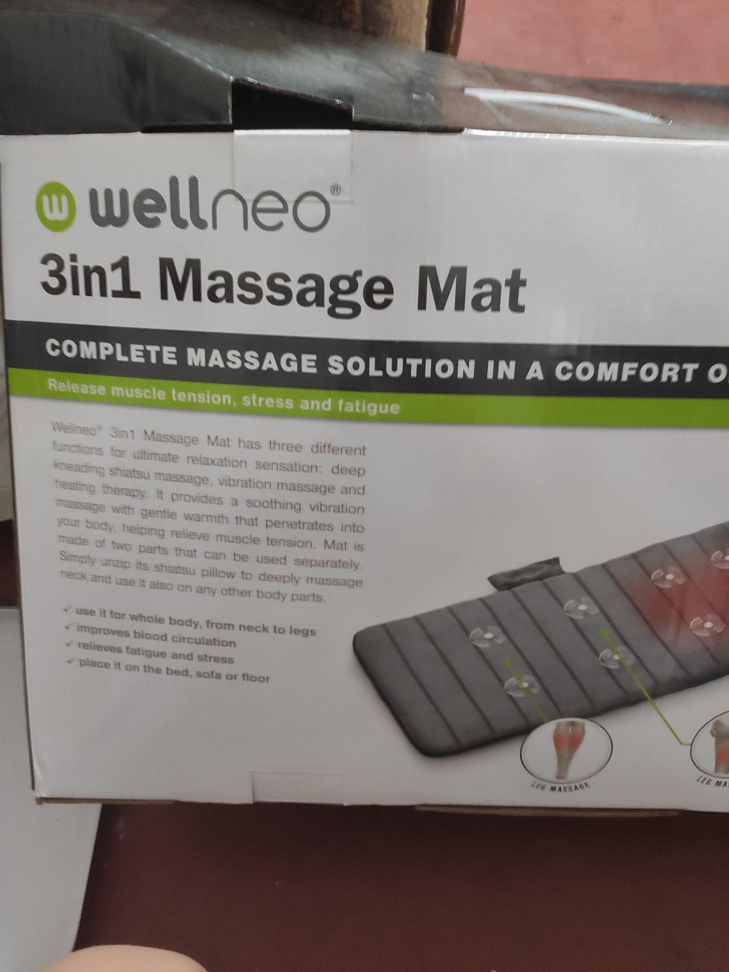 Продам масажний коврик 3 в 1