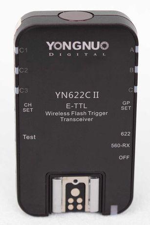 YONGNUO YN622C II Wireless Flash Trigger - stan - jak nowe !