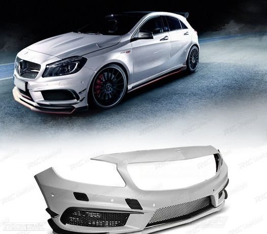PARACHOQUES FRONTAL LOOK AMG MERCEDES CLASSE A W176 12- PDC/SRA