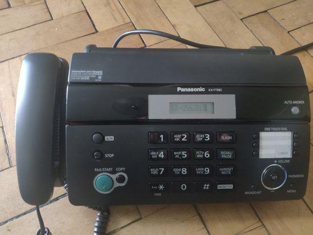 Факс телефон панасоник Panasonic KX-FT982  Новый