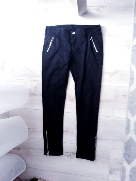 Nowe czarne spodnie Moodo 7/8 rozm.36 S