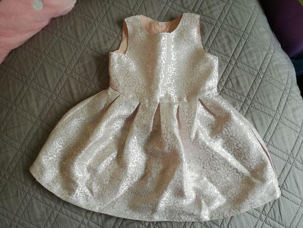 suknia sukieneczka rozm. 98
