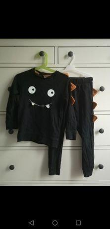 Dresik H&M 104 bluza spodnie