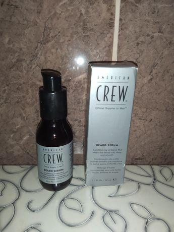 American crew beard serum сыворотка для бороды