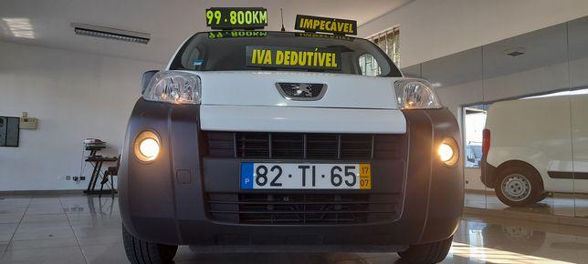 Peugeot Bipper 1.300 HDI 80CV*99.800Quilometros*2017*IVA DEDUTÍVEL*