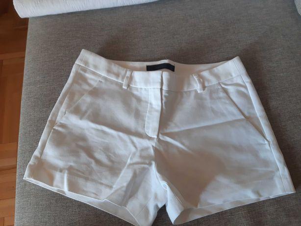 Szorty Zara rozmiar S, białe