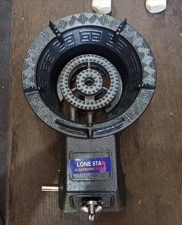 Газовая чугунная плита 7,5 кВт с пьезоподжигом