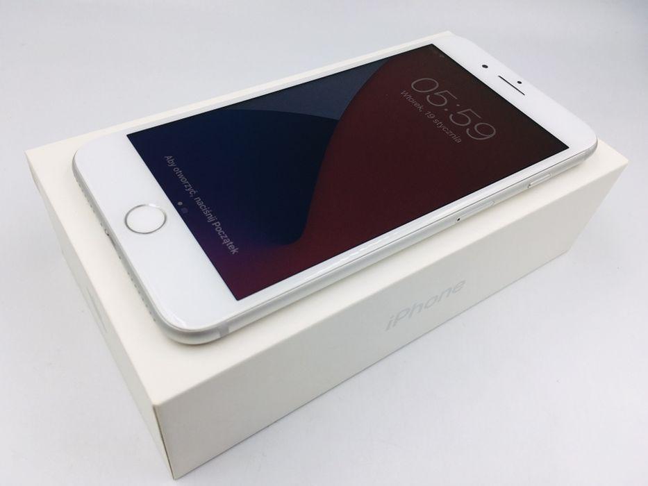 iPhone 7 PLUS 128GB SILVER • NOWA bateria • GWAR 1 MSC • AppleCentrum Wrocław - image 1