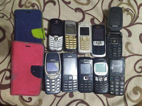 Продам 10 телефонів за 300 грн