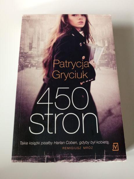 450 stron - Patrycja Gryciuk