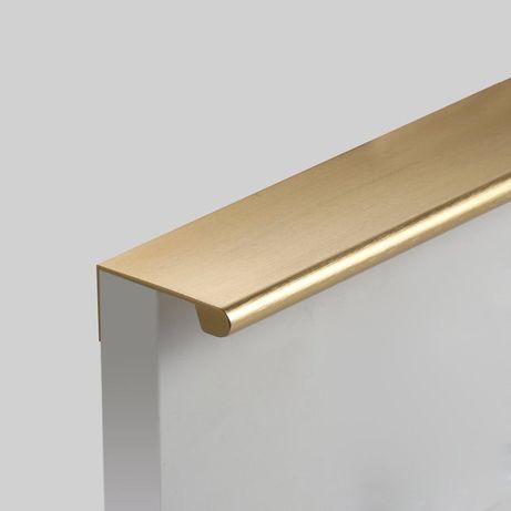 Puxadores Dourados - Aço escovado - vários comprimentos