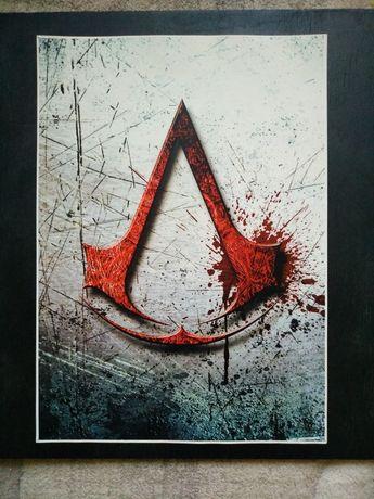 Плакат Assassin's creed