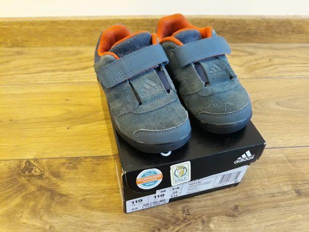 Buty buciki Adidas niebieskie rozmiar 22 + przesyłka gratis
