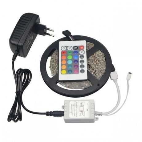 Wodoszczelna Taśma 300 LED SMD 3528 RGB 5m Zestaw Nowa