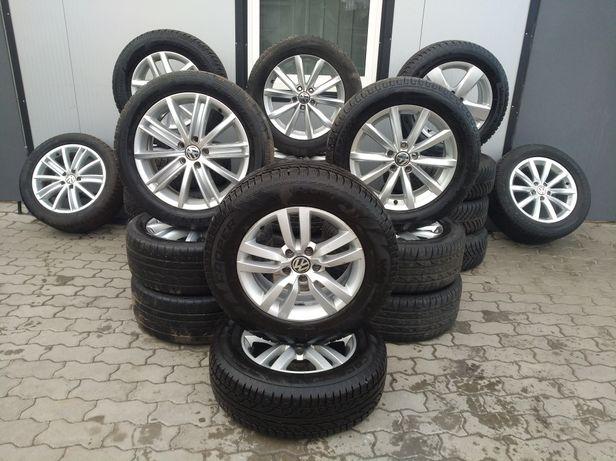 Vw tiguan шини диски колеса DUNLOP 215/65R16 шини 5х112 16р.7-8мм