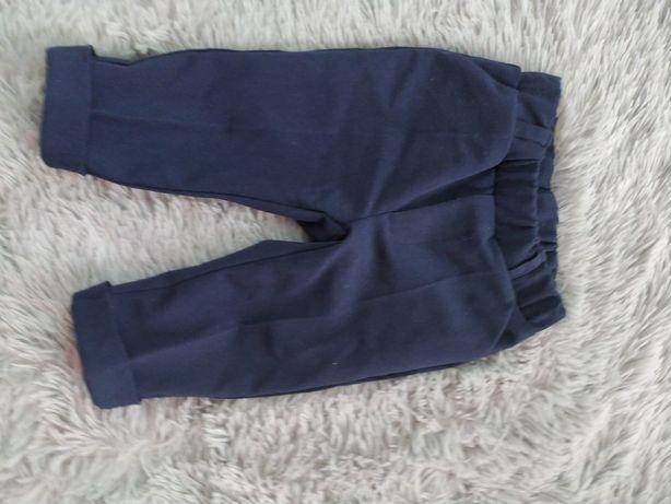 Spodnie r. 74 chrzest, roczek