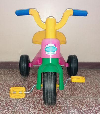 Rowerek bobo Motor Choice trójkołowy trajka bardzo lekki różowy rower