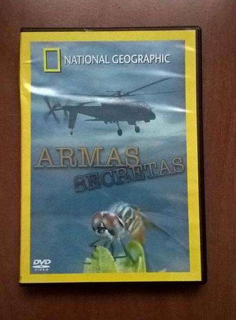 """Documentário DVD """"Armas Secretas"""", National Geographic"""