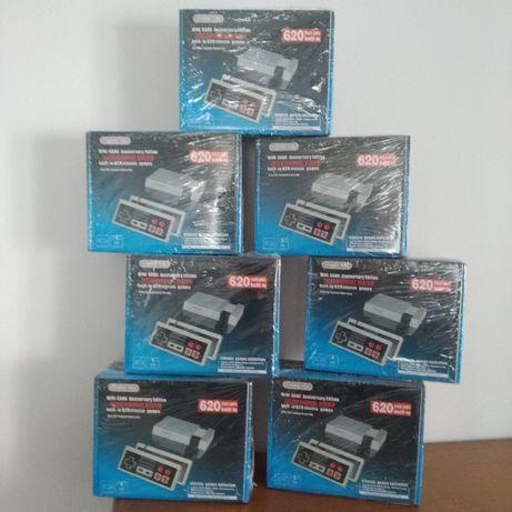 Consola retro tipo Nintendo com 620 Jogos clássicos Novas em caixa