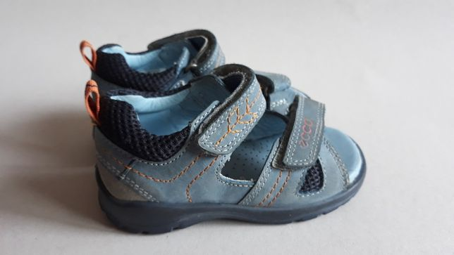 Ecco sandałki 22 rzepy dla chłopca chłopięce